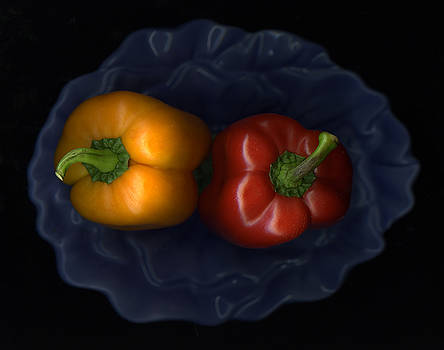 Christian Slanec - Peppers And Blue Bowl
