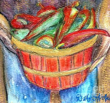 Peppers for Sale by Deb Stroh Larson