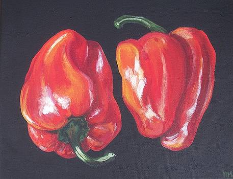 Peppers by Harriet Muller
