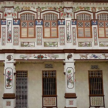 Peranakan Architecture by Stacey Chiew