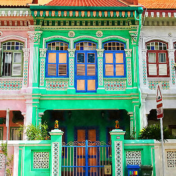 Peranakan Building by Stacey Chiew