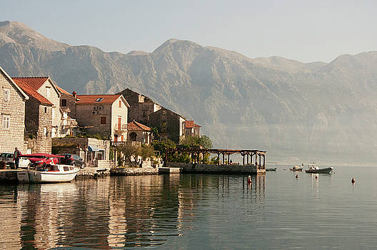 Perast Restaurant by Phyllis Peterson