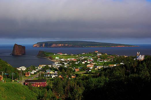 Perce, Rocher Perce and Bonaventure Island by Paul Wash