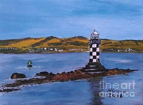 Perch Lighthouse, Port Glasgow by Neal Crossan