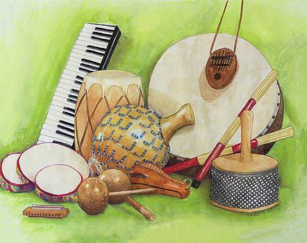 Percussion by Tara D Kemp
