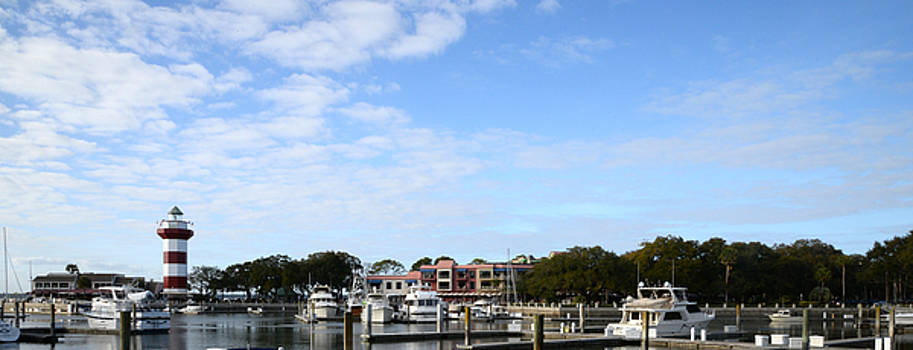 Perfect Day in Harbour Town by Wally Smith