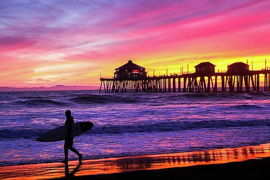 Huntington Beach - A Perfect Day by Kip Krause