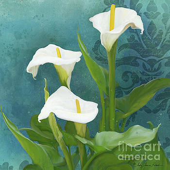 Perfection - Calla Lily Trio by Audrey Jeanne Roberts