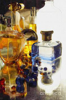 Still Life- Perfume Bottles by Feryal Faye Berber