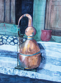 Perfume Coils by Vickie Myers