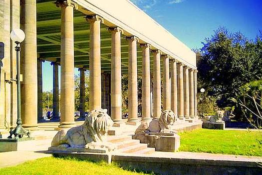 Peristyle City Park by Ted Hebbler