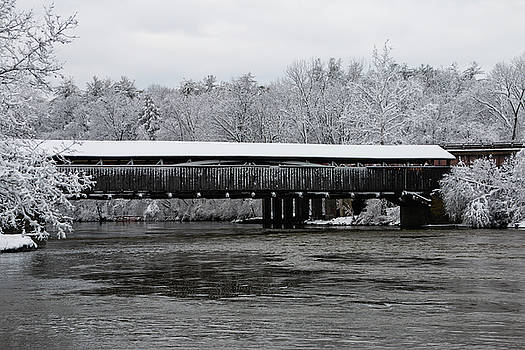 Perrine's Bridge After the Nor'Easter by Jeff Severson