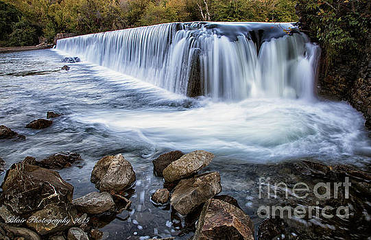 Perry's Mill Dam by Linda Blair