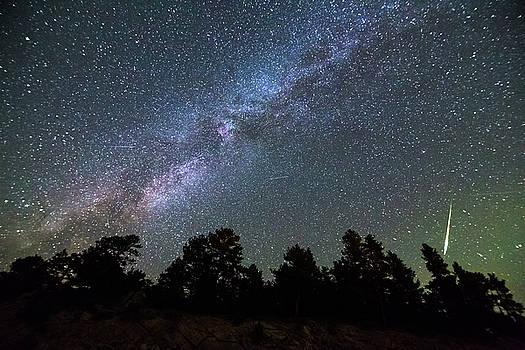 Perseid Meteor by James BO Insogna