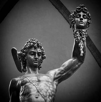 Perseus with the head of Medusa by Brian  Minnis