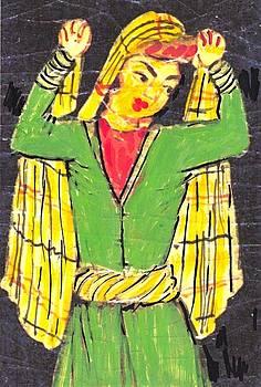 Persian dancer by Alex Rahav