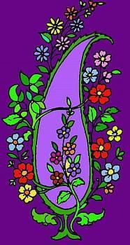 Persian Flowers by Mehdi Mehrvarz