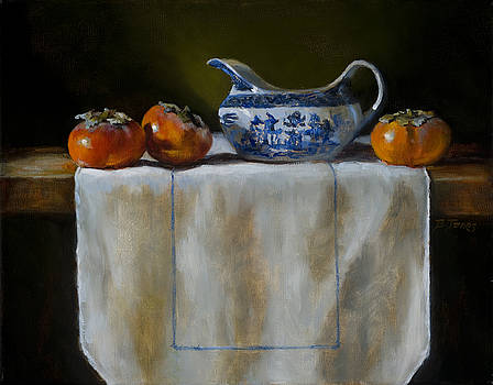 Persimmons by Barbara Jones