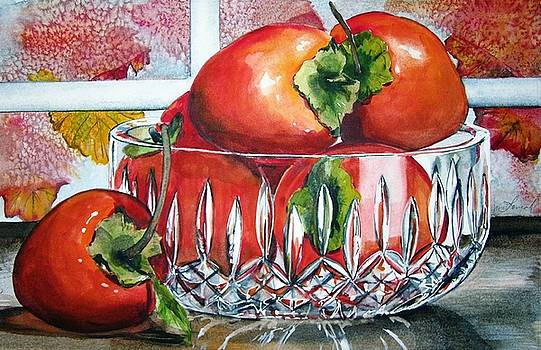 Persimmons by Jane Loveall