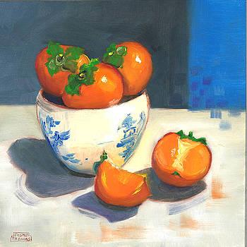 Persimmons by Susan Thomas