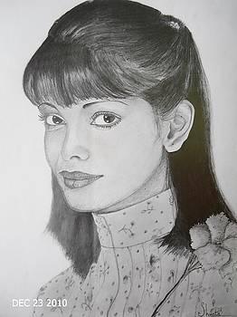 Persis Khambatta by Shweta Mattoo Koul