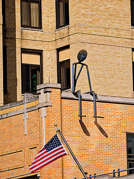 Steven Ralser - Person on Building 2 - Madison - Wisconsin