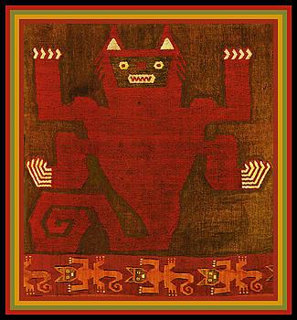 Peruvian Inca Demon Spirit by Vagabond Folk Art - Virginia Vivier