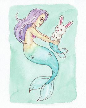 Pet Mermaid - MerMay 2018 by Armando Elizondo