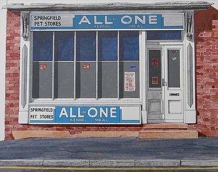 Pet Shop in Buckley by Alwyn Dempster Jones