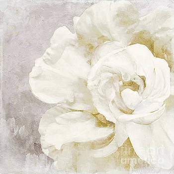 Petals Impasto Alabaster by Mindy Sommers