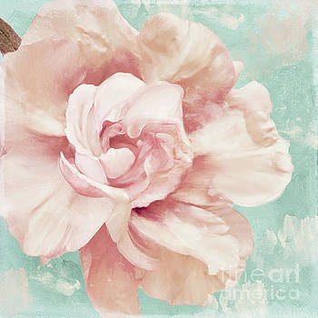 Petals Impasto Mint by Mindy Sommers