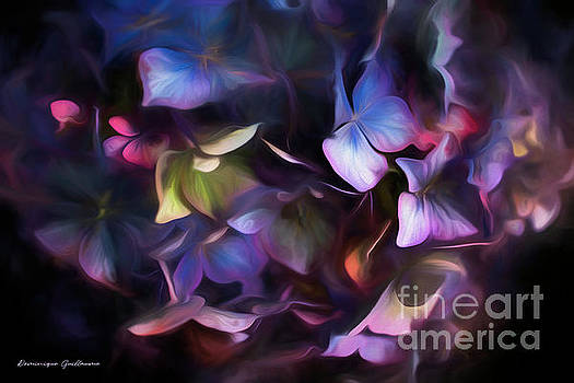 Petals of Hydrangea by Dominique Guillaume