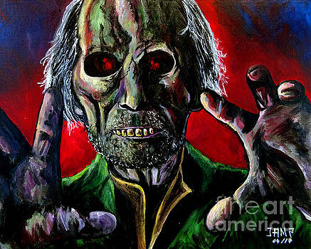Peter Cushing Tales from the crypt by Jose Mendez