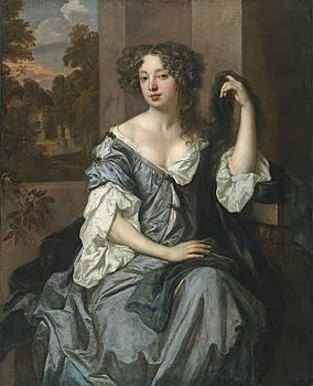 Peter Lely - portrait of Louise de Kerouaille  by Bishopston Fine Art
