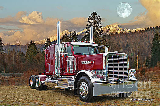 Peterbilt in the Country by Randy Harris