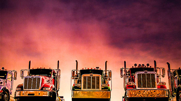 Peterbilt  Landscape by Bob Orsillo