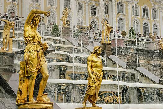 Peterhof Grand Cascade by KG Thienemann