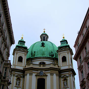 Peterskirche, Vienna by Iqbal Misentropy