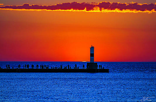Petoskey Harboring Sky by J Thomas