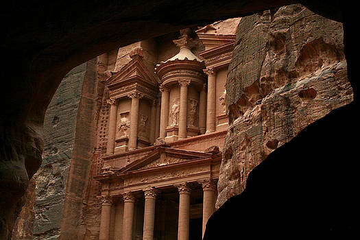 Petra The Red Rose Old City by Ziyad Mihyar