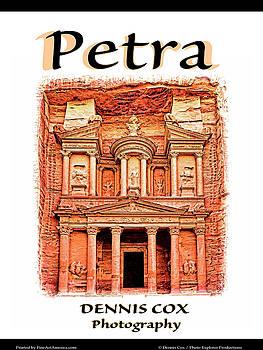 Dennis Cox Photo Explorer - Petra Travel Poster