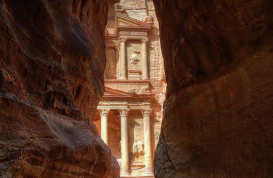 Petra Treasury Revealed by Nigel Fletcher-Jones