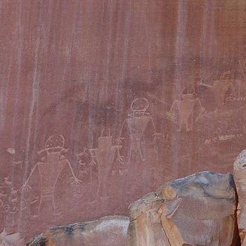 #petroglyphs #capitolreefnationalpark by Patricia And Craig