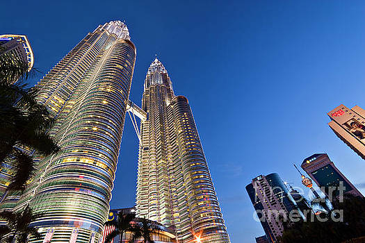 Petronas Towers by David Bleeker