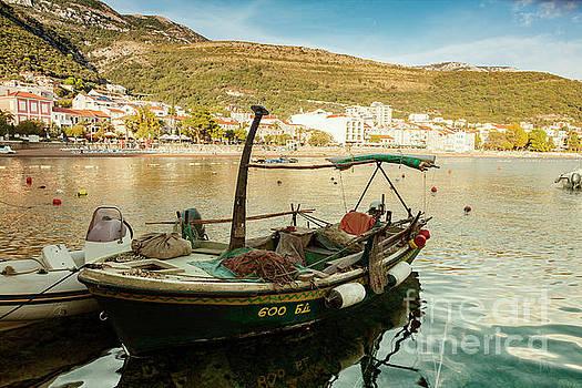 Petrovac fishing boat by Sophie McAulay