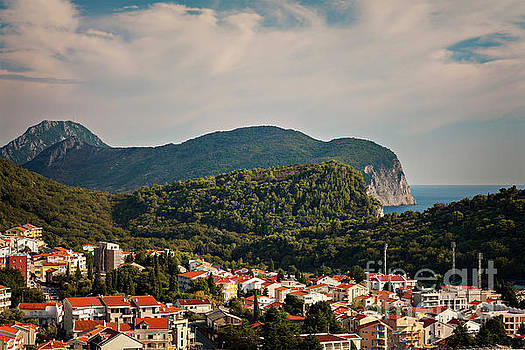 Petrovac Montenegro hills by Sophie McAulay