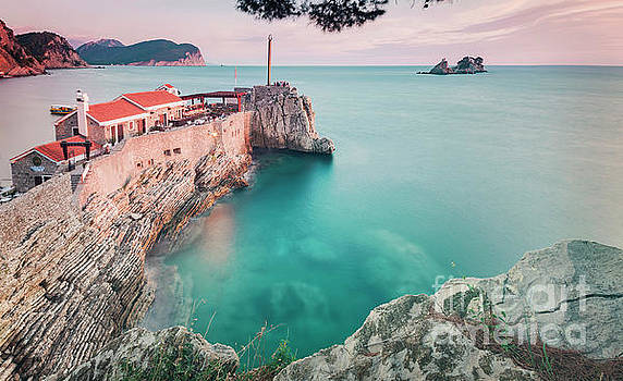 Petrovac Montenegro landscape by Sophie McAulay