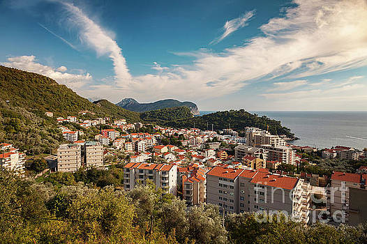 Petrovac town Montenegro by Sophie McAulay