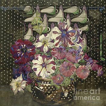 Charles Rennie Mackintosh - Petunias, 1916