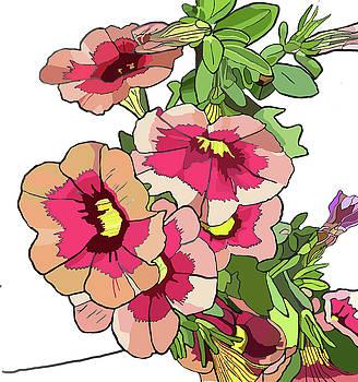 Petunias by Jamie Downs